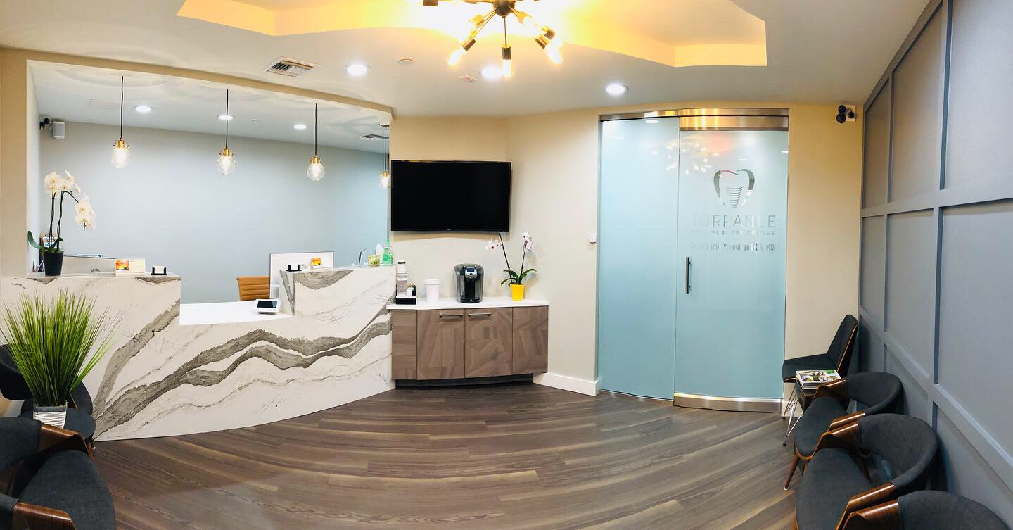 torrance oral surgery center reception