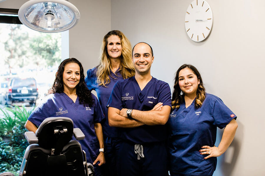 Torrance Oral Surgery group picture