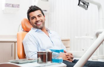 Dental Patient in Chair
