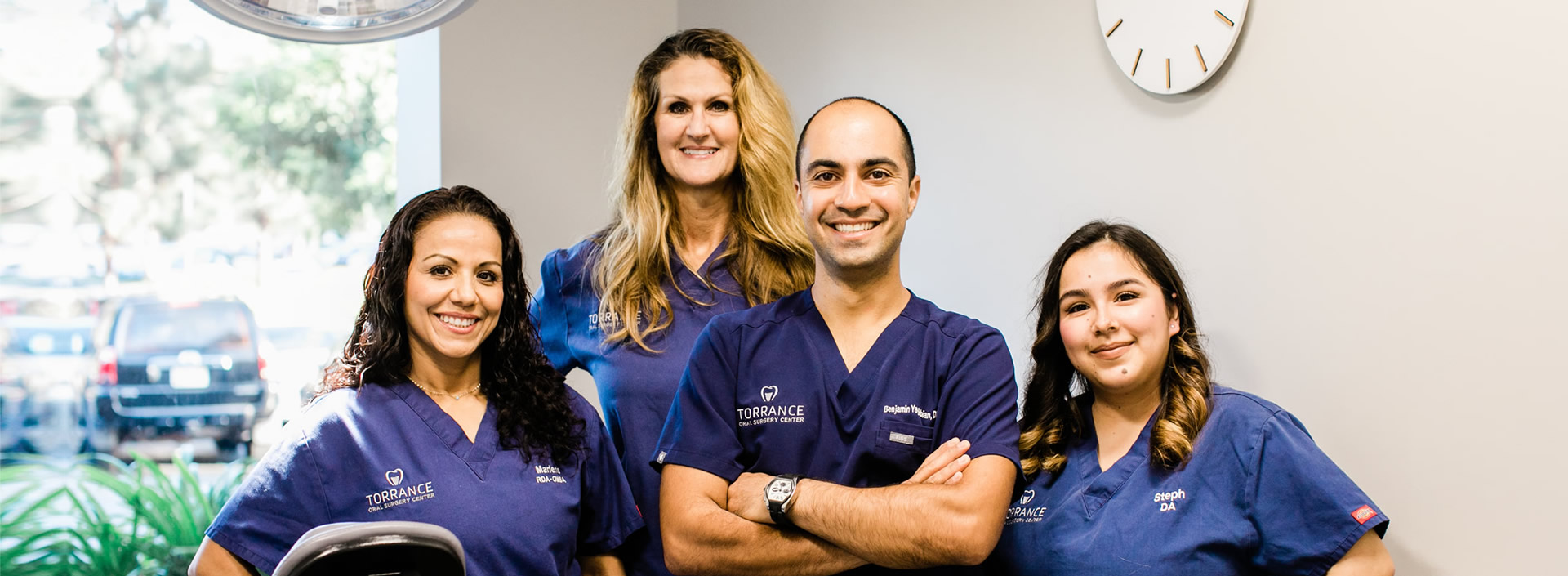Torrance Oral Surgery Center team